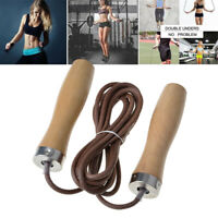 Skipping Rope Jumping Sport Speed Ropes Exercise Fitness PVC + Wooden Handle 9ft