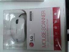 LG LSM-150 Scanner Mouse - White