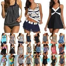 Plus Size Ladies Bikini Sets Tankini Swimwear Swimsuit Summer Beach Bathing Suit