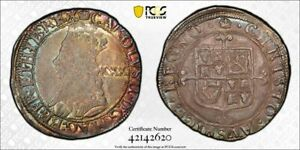 Charles I 1/2 crown 30 shillings ND lustrous about uncirculated PCGS AU55