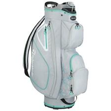 TaylorMade Golf Kalea Ladies Cart Bag (Silver/Green)
