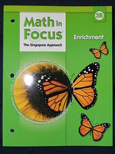 Houghton Mifflin Harcourt Math in Focus  Enrichment, Book B 3rd Grade 3 (2013,..