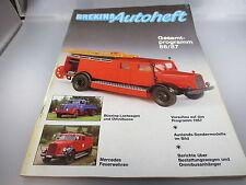 Brekina:Autoheft / Gesamtprogramm 96/87  (Kataloge2)