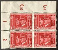 Germany. German Reich. Hitler & Mussolini. BLOCK. SG751. 1941. MNH. #SC86