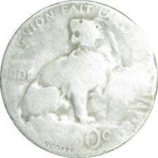 BELGIQUE;50 Centimes;argent;1901:/LC10