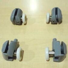 4 cuscinetti ruote rotelline ricambi per porta anta box doccia scorrevole 6 mm