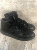 Nike SB Zoom Dunk Hi Pro Bota Black 923110 001 Men's Size 14