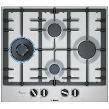 Bosch PCI6A5B90 Built in 4 Burners 9 Levels Adjustable Gas Hob Stainless Steel