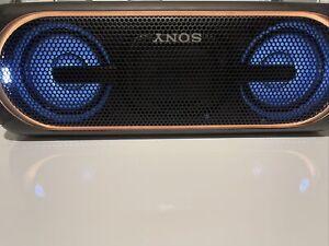 Sony SRS-XB40 Portable Speaker System - Black