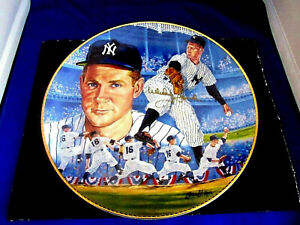 WHITEY FORD 1961 WSC WS MVP NEW YORK YANKEES HOF GARTLAN SIGNED AUTO PLATE JSA