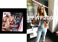 WWE CARMELLA HAND SIGNED AUTOGRAPHED 2 PACK ACTION FIGURE WITH PIC PROOF COA