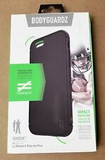 New Bodyguardz Unequal's Shock Case for iPhone 6+ Plus iPhone 6S + Plus Black
