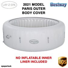 2021 Bestway Lay Z Spa Paris Top Lid & Bottom Outer Protective Cover NEW Lazy