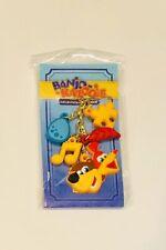 Banjo-Kazooie Collectathon Charm Keychain Official Key Ring Golden Jiggy