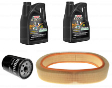 Engine Oil Kit w/ Air & Engine Oil Filters MAHLE/CASTROL for Mercedes 260E 300SE