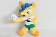 2014 FIFA World Cup Brazil Flueco Plush Toy Doll Key Chain Keychain