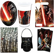 Official Classic Star Wars Birthday Complete Party Tableware Plates,Cups Etc