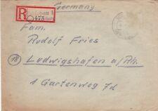 Germany 1946 Merseburg-Ludwigshafen Registered cover VGC