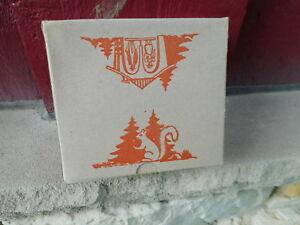 NOS Vintage GERMAN Bambi BAROMETER WEATHER HOUSE BOX #50 w/box (S6)