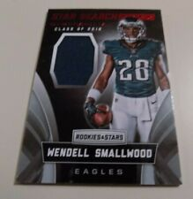 2016 PANINI ROOKIE + STARS STAR SEARCH MEMORABILIA #28 WENDELL SMALLWOOD JERSEY