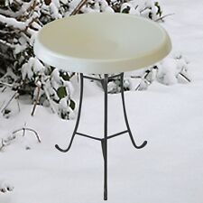 NEW Birds Choice Heated Pedestal Bird Bath, WHITE ~ Local Pick up available!