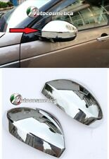 Chrome shell MIRROR COVERS for Range Rover Evoque door wing caps