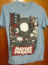 MAYDAY PARADE small T shirt Tallahassee 2011 float tee Make Mistakes balloon