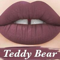 AUTHENTIC LIME CRIME COSMETICS VELVETINES TEDDY BEAR LILAC BROWN LIQUID LIPSTICK
