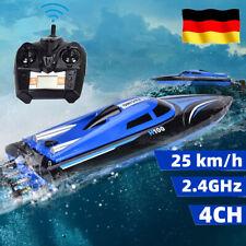 4CH 25km/h RC Speedboot ferngesteuertes Schiff Boot Rennboot Mit Fernbedienung