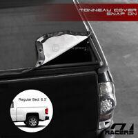 For 2014-2018 Chevy Silverado/GMC Sierra 6.5 Ft Bed Snap-On Vinyl Tonneau Cover