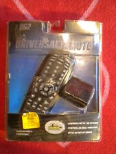 PELICAN UNIVERSAL REMOTE CONTROL *NEW* SONY PLAYSTATION 2 PS2 BLACK DVD TV VCR