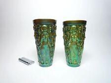 Porzellan-Antiquitäten & -Kunst-Vasen mit Frauen-Motiv