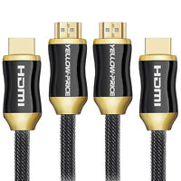 4K HDMI Cable 6ft (2-Pack) - High Speed 18Gbps HDMI 2.0 Cable - HDCP 2.2-4K HDR