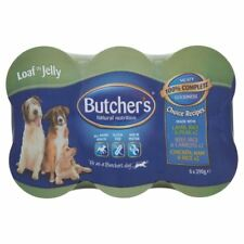 Butcher's Natural Nutrition Favourites All Meat Loaf in Jelly Variety (6x390g)
