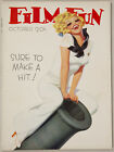 Hi-Grade Vintage October 1935 Film Fun Magazine Blonde Sailor Enoch Bolles Cover