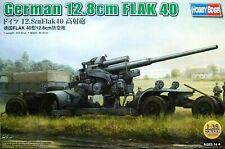 Hobbyboss 1:35 German 12.8cm Flak 40 AA Gun On Transporter Model Kit