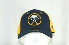 Buffalo Sabres NHL Blue /Yellow Baseball Cap Stretch Fix L/Xl