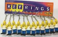 12 x The Simpsons Keyring Pack Party Fillers Gift Birthday Christmas