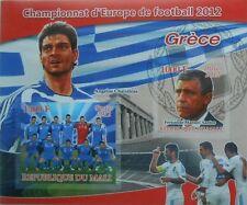 Fußball Team 2012 Griechenland A. Charisteas F.M. Santos Mali S/S Straße #p230
