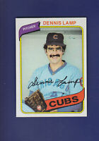 Dennis Lamp 1980 TOPPS Baseball #54 (NM+) Chicago Cubs