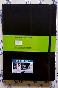 Seawhite Classic Travel Journal A6 A5 A4 Plain, Square, Dot Grid, Lined 130gsm