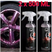Iron Fallout Remover Safe Alloy Wheel Cleaner PH 7 Neutral 1 ltr AC-PRO Red D