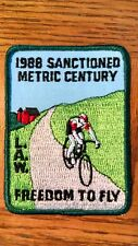 L.A.W. 1988 Sanctioned Metric Century, Freedom to Fly Sewing Patch