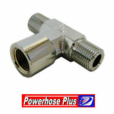 Venhill 1/8NPT x 27tpi inline pressure switch to 1/8 bsp connection brake line