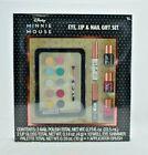 Centric Beauty - Disney Minnie Mouse - Eye Lip  Nail 7 Pcs Gift Set - New