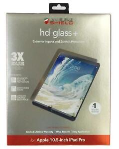 """ZAGG InvisibleShield HD Glass+ Screen Protector for Apple 10.5"""" iPad Pro (Clear)"""