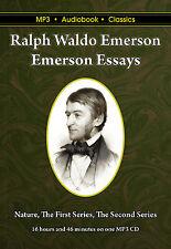 Emerson Essays - Unabridged MP3 CD Audiobook in DVD case