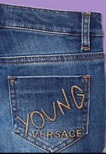NWT Young Versace Girls Jeans 5A