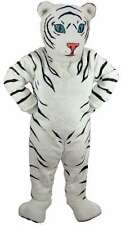 White Tiger Cub Professional Quality Lightweight Mascot Costume Adult Size