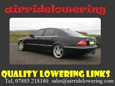 W220 MERCEDES S CLASS(ABC) Fully Adjustable Lowering Links module full kit £79.0